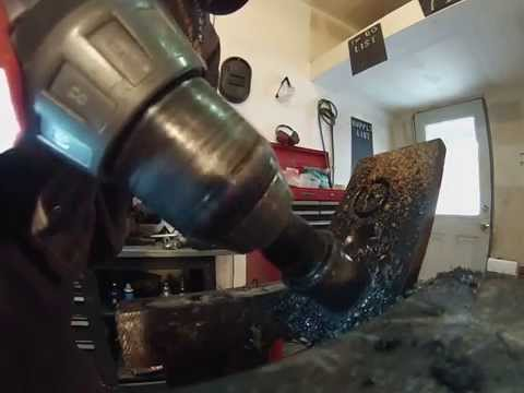 Tool Guy Carbide Annular Cutter Cutting-Drilling Thick Steel Easy!