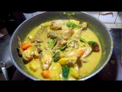 Chicken Curry (Filipino Style) By Porthoscook