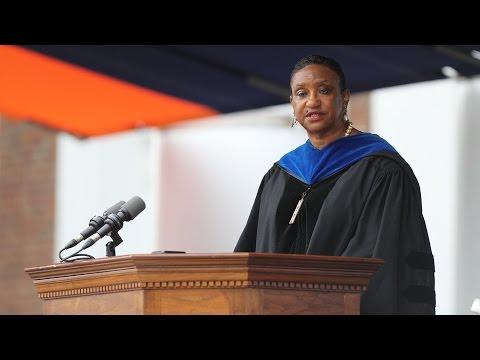 Deborah E. McDowell Addresses UVA's Class of 2017