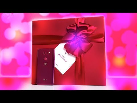 Raspberry Rose LG V30 Hands On: The Perfect Valentine's Day Gift