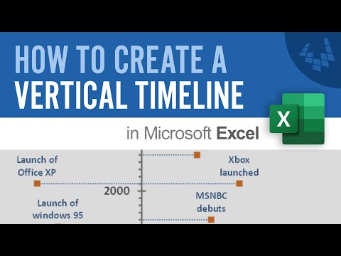 How to Create a Vertical Timeline in Excel