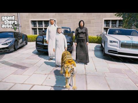 GTA 5 REAL LIFE PRINCE OF DUBAI MOD #2-BUYING A TIGER!
