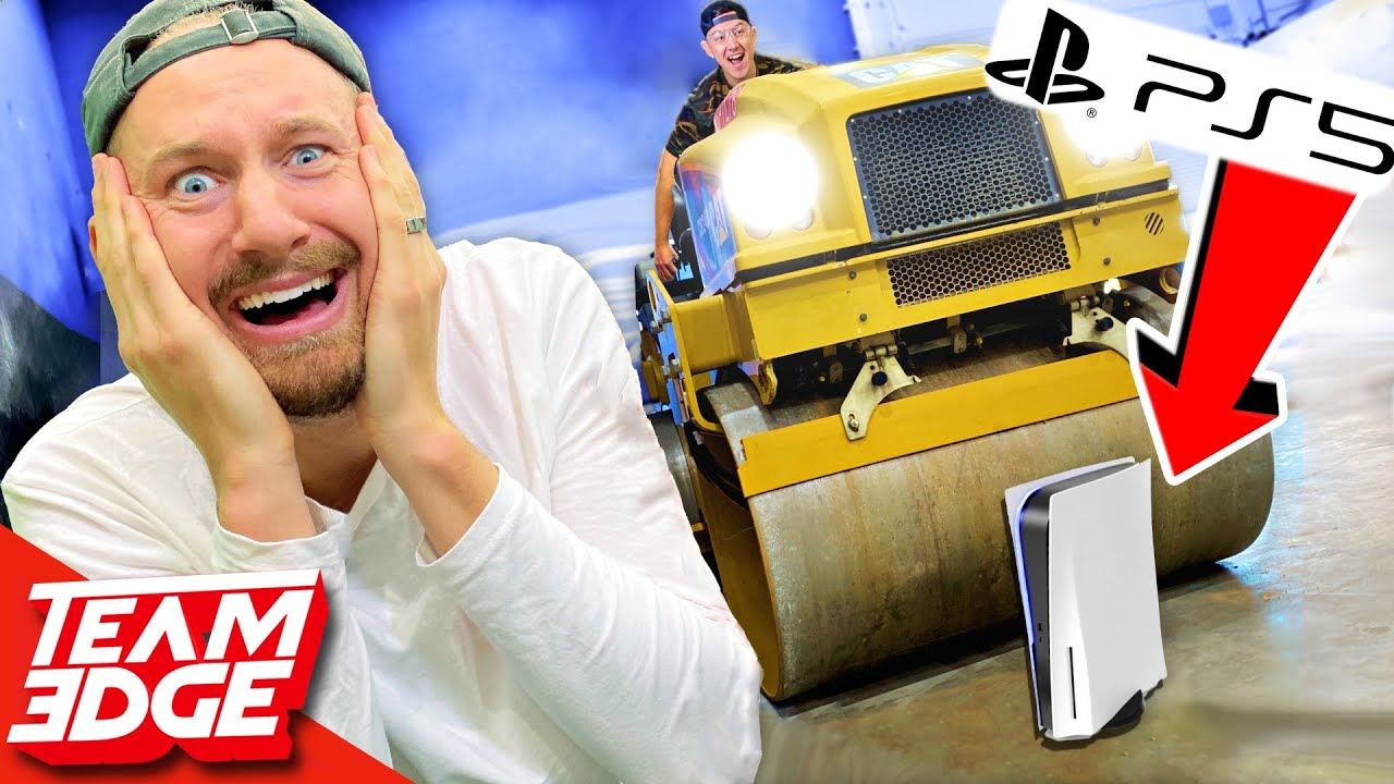 WIN a *PS5* or get it SMASHED by a STEAMROLLER!!