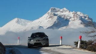 Tests Monte Carlo Juho Hänninen Toyota Yaris Wrc