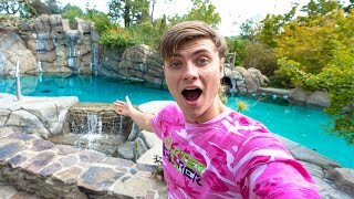 This house has a WATER PARK!!