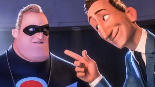 INCREDIBLES 2 Make Superheroes Legal Again! Movie Clip (2018)