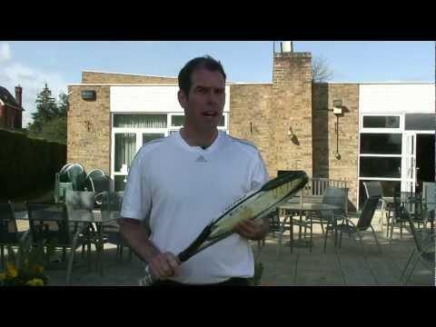 Tennis Tip - Racket stringing tips