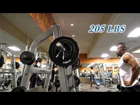 205 LBS (93 KG) OFFICIAL PERSONAL RECORD  | MILITARY PRESS @ 185 LBS BW