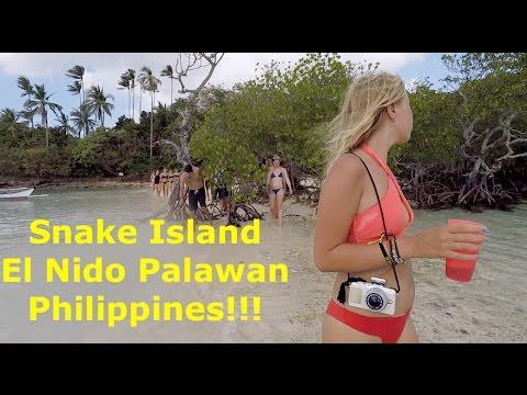 Snake Island, El Nido Palawan Philippines! //Sanchez Fun