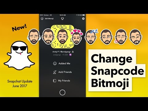 How to Edit Bitmoji on Snapcode & Change Outfit in Snapchat