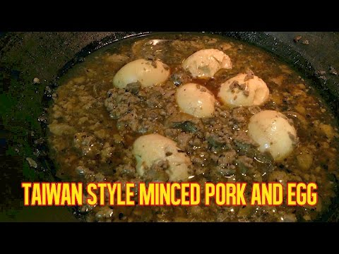 TAIWAN STYLE MINCED PORK AND EGG