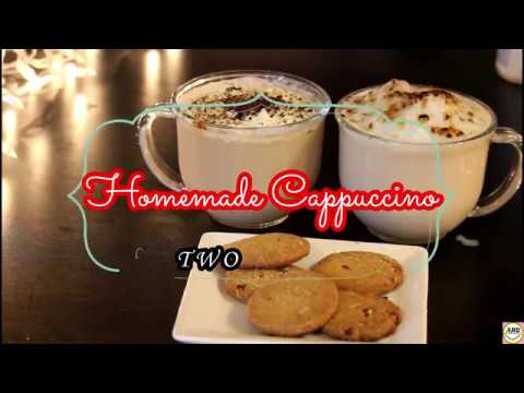 Homemade Cappuccino Without Coffee Machine- Two Methods #Recipe 16
