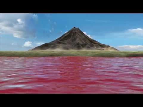 Tanzania lake water petrifies fallen animals