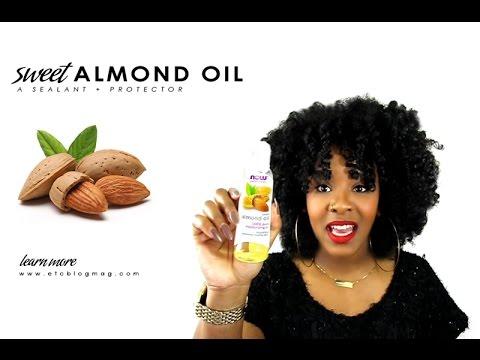 NATURAL HAIR | Sweet Almond for Natural Hair Growth & Repair