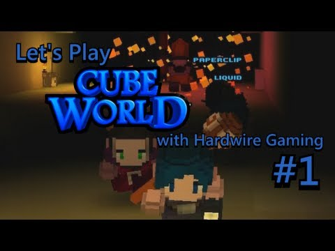 LANROK PYRAMID QUEST | Let's Play Cube World with Hardwire Gaming (Part 1)