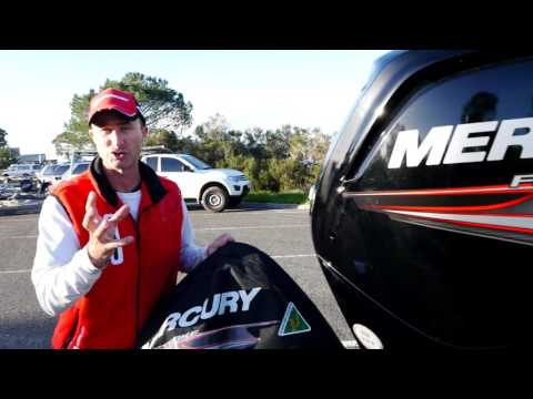 Lee Rayner uses Mercury Outboard Engine Covers