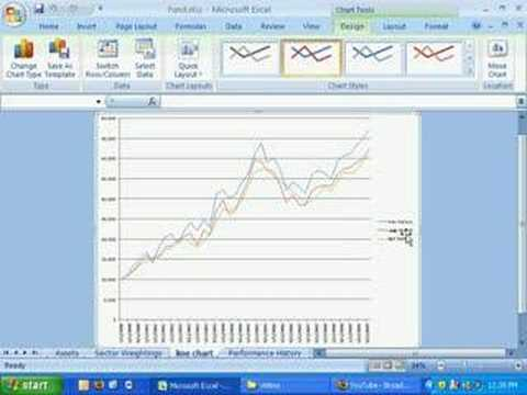Excel 2007 Line Chart