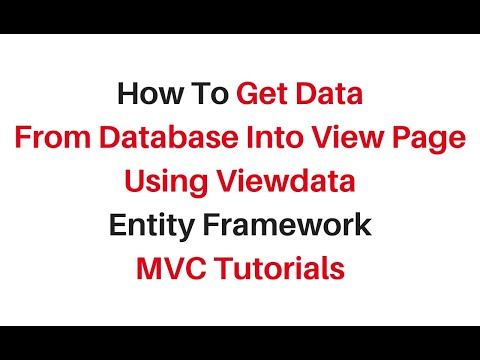 mvc get viewdata in view records from database c#4.6