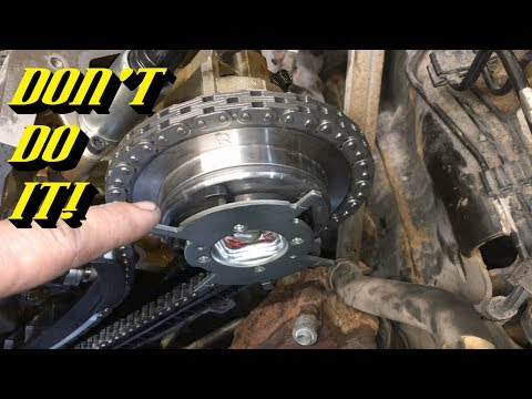 Ford 5.4L 3v Timing Kit Choices: This is Why You NEVER Want to Use Aftermarket Camshaft Phasers!