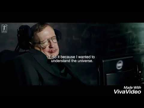 Stephen Hawkings Last Words (Unseen Footage) | Hacked from government officials