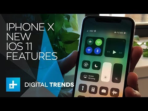 iPhone X: Using the new features and controls in iOS 11