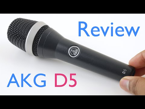 AKG D5 Review and Microphone Test