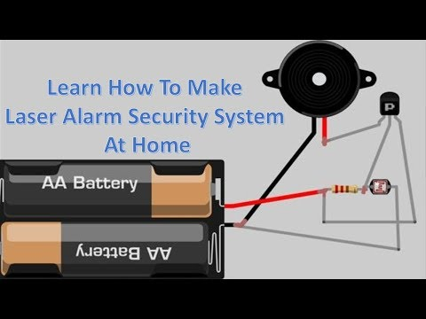 How to make Laser Alarm Security System