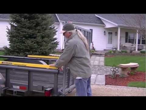 Custom Trailer Ramp and Gorilla-Lift Trailer Tailgate Lift Assists