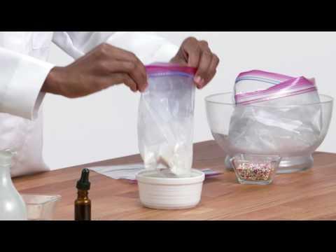 Ice Cream Chemistry Experiment