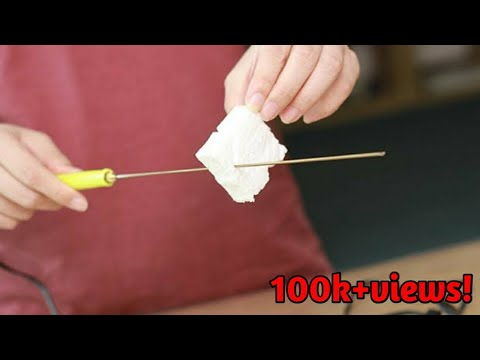 How To Make A Simple Foam Cutter (Life Hack) - D.I.Y GURU JI