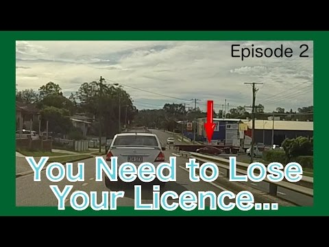 Dash Cam Brisbane - You Need to Lose Your Licence - Episode 2 - Clueless Kia Cerato Driver