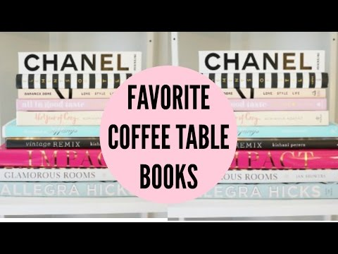 Favorite Coffee Table Books: Kate Spade, Chanel, Glamorous Rooms