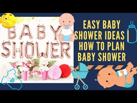 Easy Baby Shower Ideas || How to Plan Your Para Baby Shower