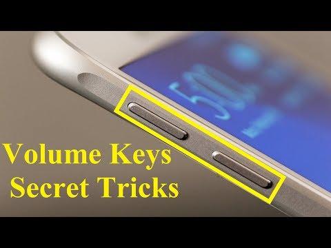 Android Volume Button Secret Tricks