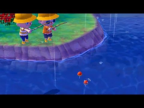 Video Journal - Animal Crossing: New Leaf | Stormy Fishin'