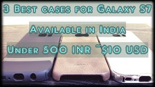 3 best cases covers for Samsung Galaxy S7 under $10 available in India