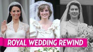 A Look Back at the Royal Weddings