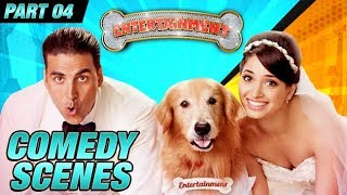 Entertainment Comedy Scenes | Akshay Kumar, Tamannaah Bhatia, Johnny Lever | Part 4