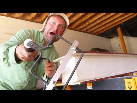 TERRIFYING! Melting Our SIPs! (Installing FIrst Garage Panels)