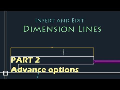 AutoCAD Basics - Edit Dimensions (Simple Tutorial!!) PART 2