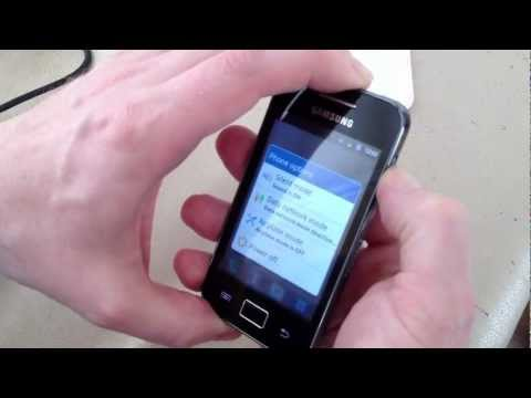 How to Unlock Samsung S5830 Galaxy Ace Android Phone - HD quality!