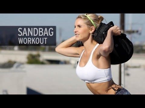 How to Workout with a Homemade Sandbag