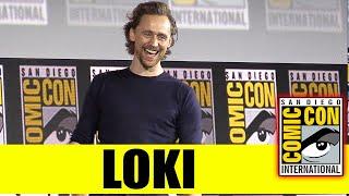 Download LOKI | 2019 Marvel Comic Con Panel (Tom Hiddleston) Video