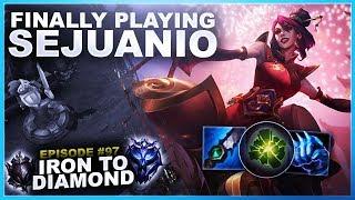 FINALLY PLAYING SEJUANIO! - Iron to Diamond | League of Legends