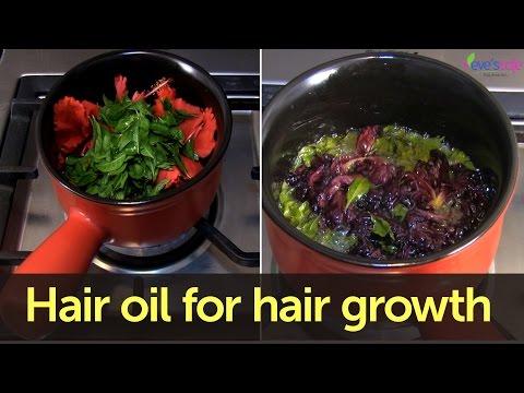 Hair Oil Preparation for Hair Darkening and Hair Growth