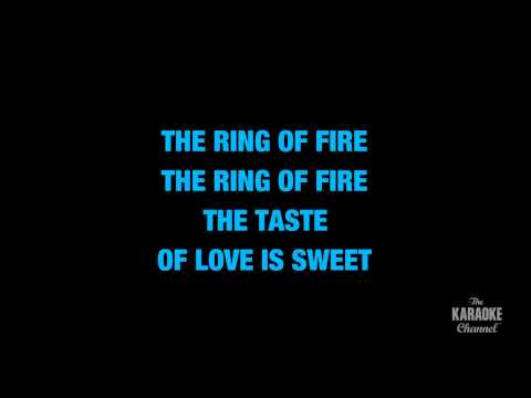 Ring Of Fire in the Style of