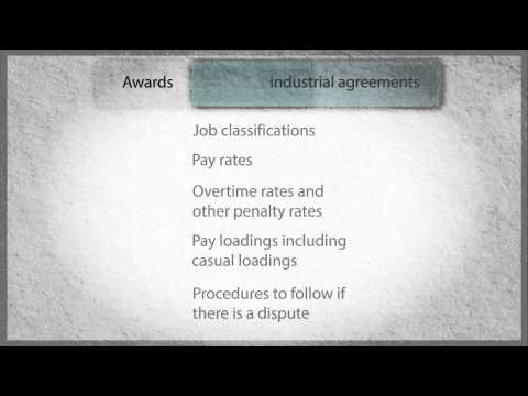 Employment Law in WA: 6. Awards and industrial agreements