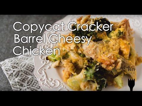 Copycat Cracker Barrel Cheesy Chicken