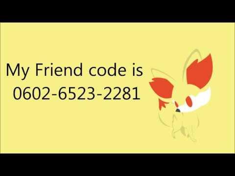 Pokemon X and Y - Friend Code Exchange