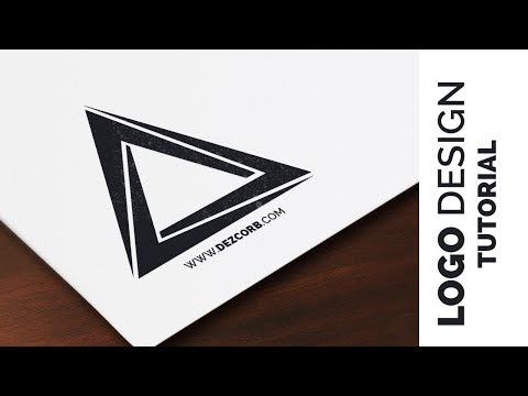 logo design tutorial photoshop cs6 | Triangle Logo